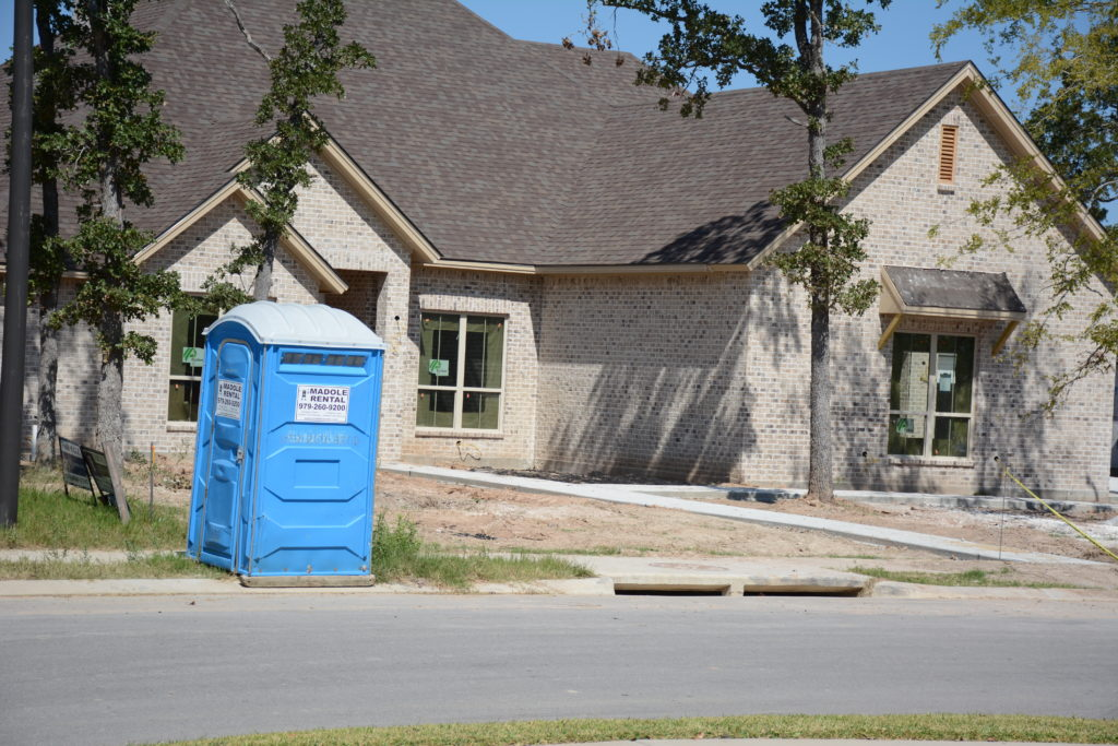 Residential Construction Porta-Pottie
