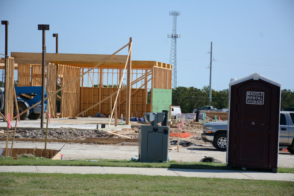 Commercial Construction Porta-Johns